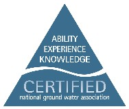 Winslow Pump and Well is Certified by the National Ground Water Association